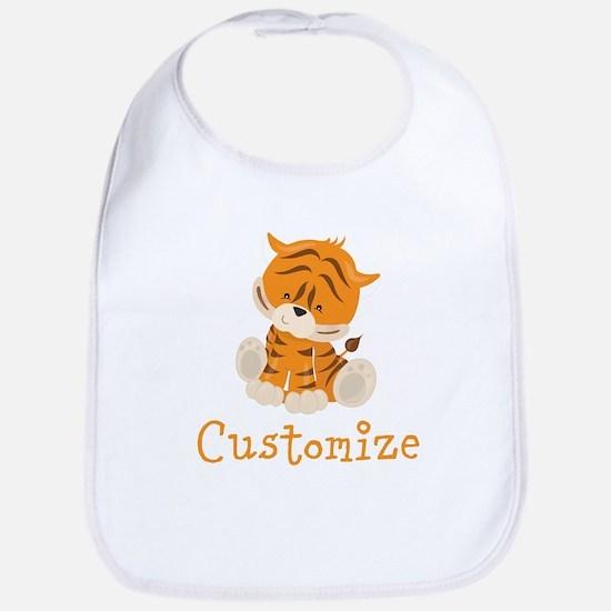 Custom Baby Tiger Bib