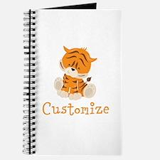 Custom Baby Tiger Journal