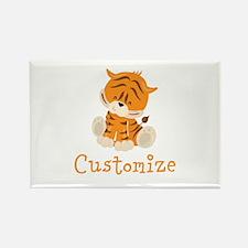 Custom Baby Tiger Rectangle Magnet (10 pack)