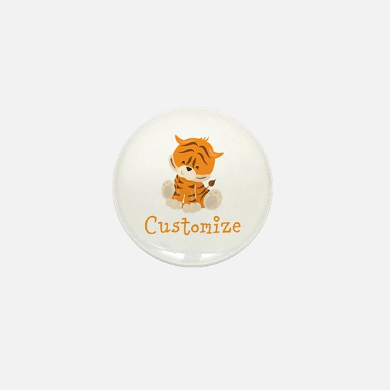 Custom Baby Tiger Mini Button (10 pack)