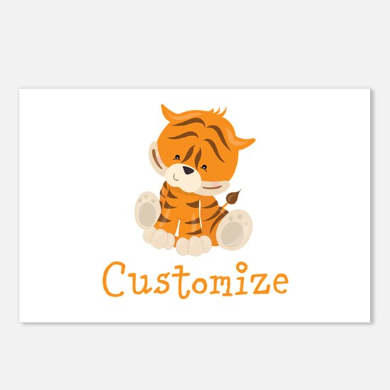 Custom Baby Tiger Postcards (Package of 8)