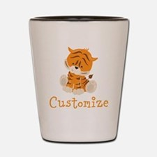 Custom Baby Tiger Shot Glass