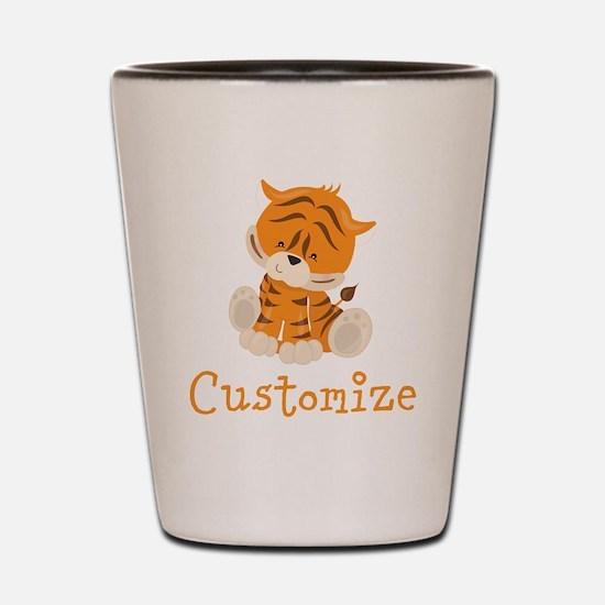 Custom Baby Tiger Shot Glass