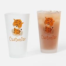 Custom Baby Tiger Drinking Glass