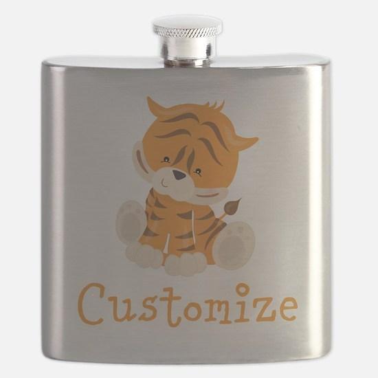 Custom Baby Tiger Flask