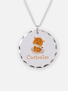 Custom Baby Tiger Necklace