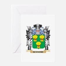Dunmore Coat of Arms - Family Crest Greeting Cards