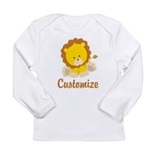 Baby Lion Long Sleeve Infant T-Shirt