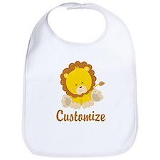 Custom Baby Lion Bib