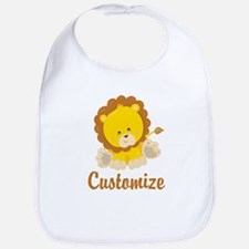 Custom Baby Lion Bib