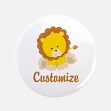 "Custom Baby Lion 3.5"" Button (100 pack)"