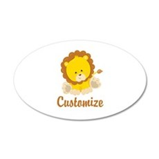 Custom Baby Lion Wall Sticker