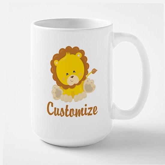 Custom Baby Lion Large Mug