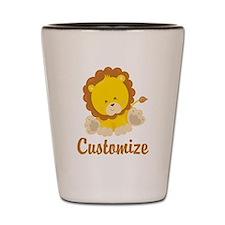 Baby Lion Shot Glass