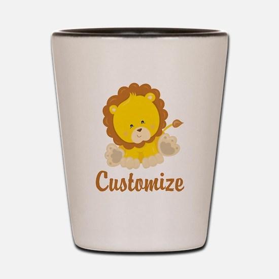 Custom Baby Lion Shot Glass