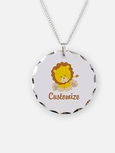 Custom Baby Lion Necklace