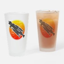 Mark IX Hawk Drinking Glass