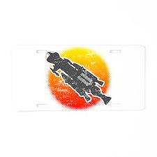 Mark IX Hawk Aluminum License Plate