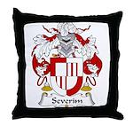 Severim Family Crest  Throw Pillow