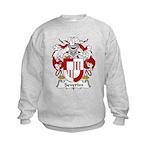 Severim Family Crest  Kids Sweatshirt