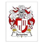 Severim Family Crest  Small Poster