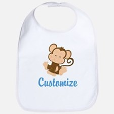 Custom Monkey Bib