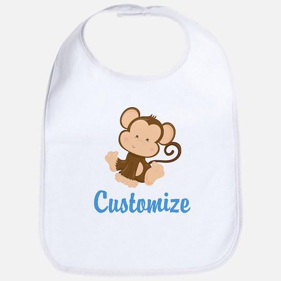 Custom Monkey Bib