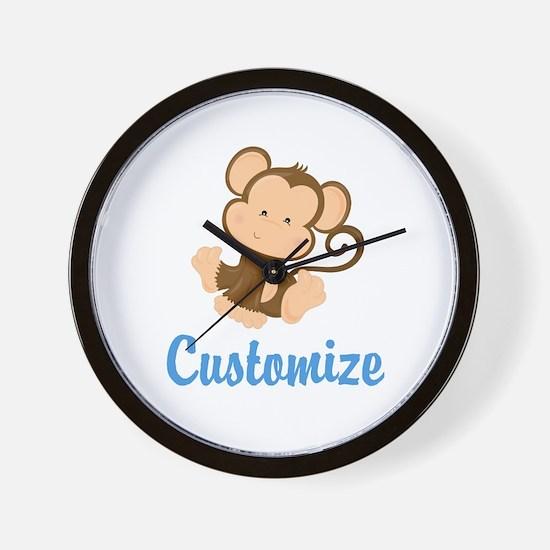 Custom Monkey Wall Clock