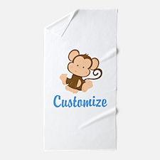 Custom Monkey Beach Towel