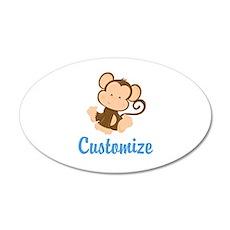 Custom Monkey Wall Sticker