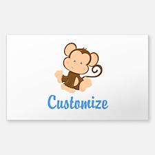 Custom Monkey Stickers