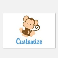 Custom Monkey Postcards (Package of 8)