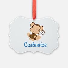 Custom Monkey Ornament