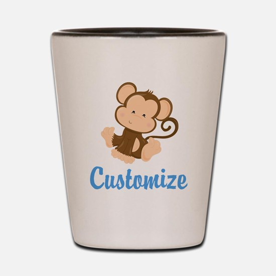 Custom Monkey Shot Glass