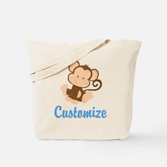 Custom Monkey Tote Bag
