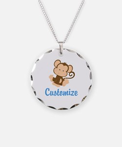 Custom Monkey Necklace