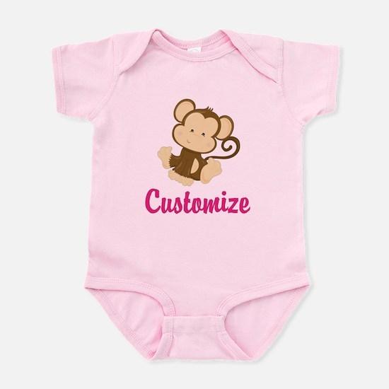 Safari baby clothes cafepress personalize this adorable baby mon infant bodysuit negle Images