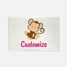 Personalize this adorable baby mo Rectangle Magnet