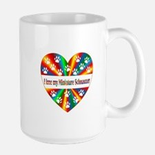 Miniature Schnauzer Love Mug