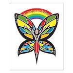 Rainbow Girls Small Poster