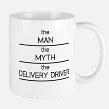 The Man The Myth The Delivery Driver Mugs