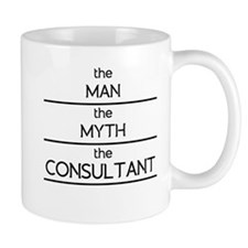 The Man The Myth The Consultant Mugs