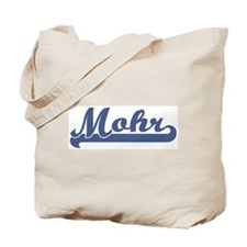 Mohr (sport-blue) Tote Bag