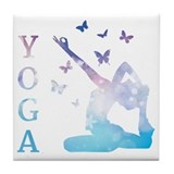 Yoga Tile Coasters