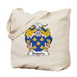 Sequeira Family Crest Tote Bag