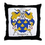 Sequeira Family Crest Throw Pillow