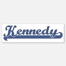 Kennedy (sport-blue) Bumper Bumper Bumper Sticker