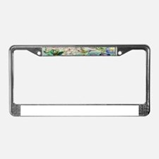 stainedglass73.jpg License Plate Frame