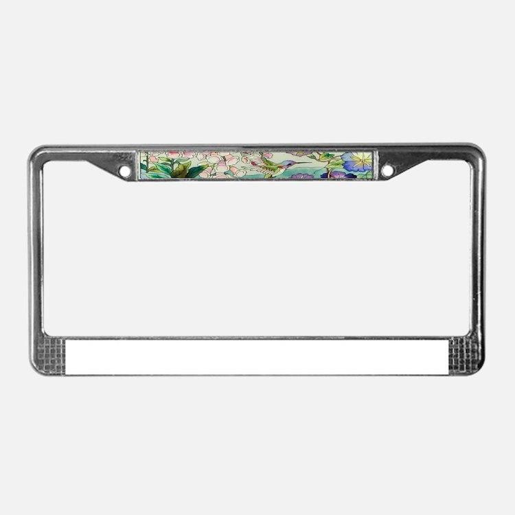 stainedglass73.jpg License Plate Frame
