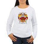 Sepulveda Family Crest  Women's Long Sleeve T-Shir
